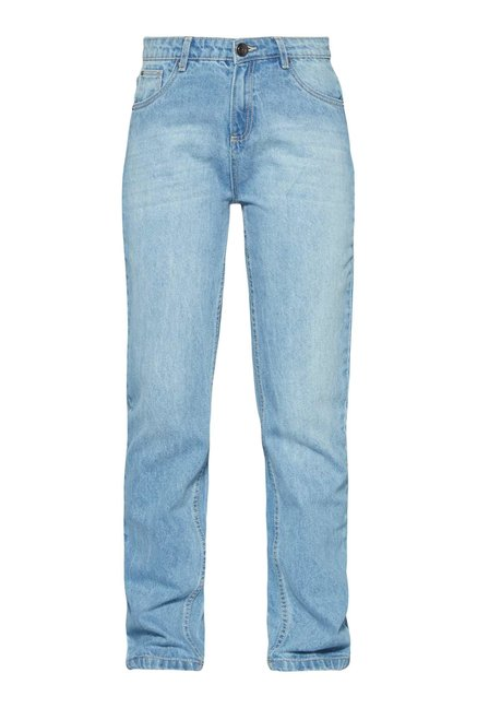 Nuon by Westside Light Blue Pure Cotton Jeans