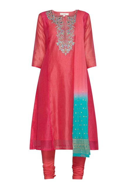 Vark by Westside Pink Ethnic Set