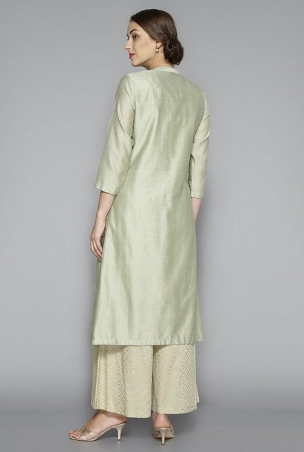Zuba by Westside Soft Green Kurta