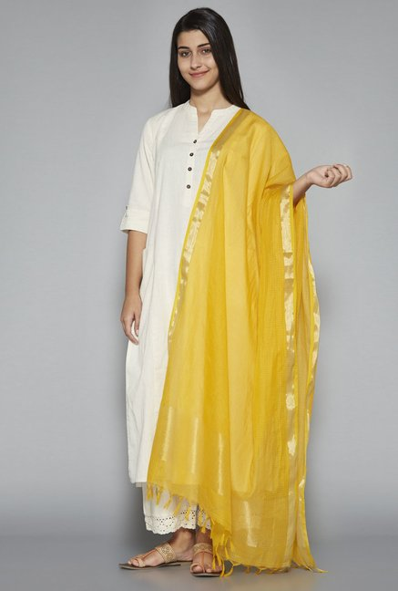 Utsa by Westside Yellow Dupatta