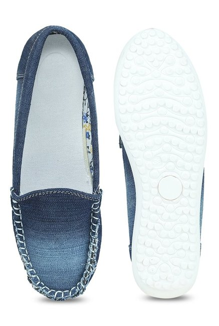 Lovely Chick Denim Blue Loafers