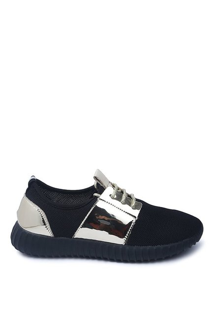 Lovely Chick Black Casual Shoes