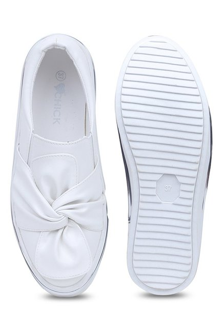 Lovely Chick White Casual Shoes