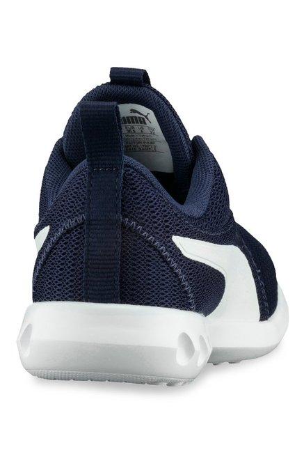 ffbb0f2f22aa Buy Puma Carson 2 Jr Blue Depths   White Training Shoes for Boys at ...