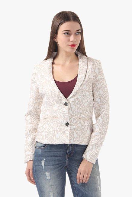 862caeb39a Buy Vero Moda Beige Paisley Print Blazer for Women Online @ Tata CLiQ