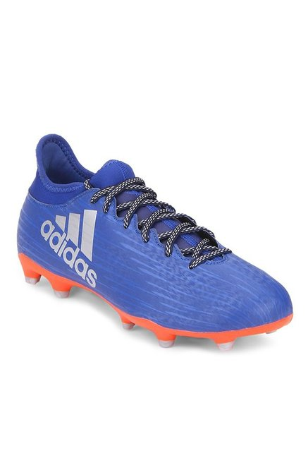 5bcc72a00d0a Buy Adidas X 16.3 FG Blue Football Shoes for Men at Best Price   Tata CLiQ