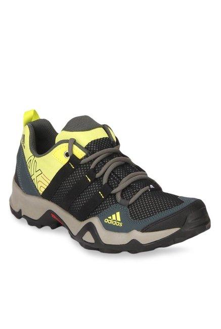 Buy Adidas AX2 Black \u0026 Yellow Hiking