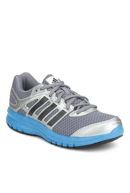 outlet store 8bff2 2ae1a Buy Adidas Duramo 6 Grey   Silver Running Shoes for Boys at Best Price    Tata CLiQ