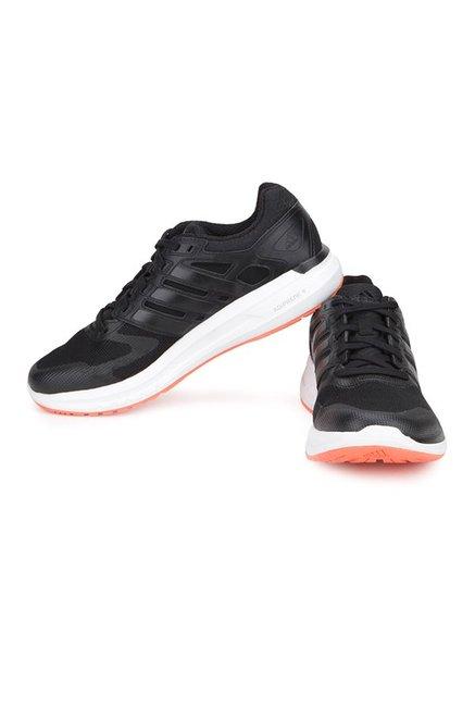 online retailer 81f90 1b37e Adidas Duramo Elite Black Running Shoes