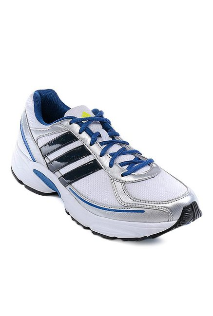 18ecea804f5 Buy Adidas Galba 1 White   Silver Running Shoes for Men at Best Price    Tata CLiQ