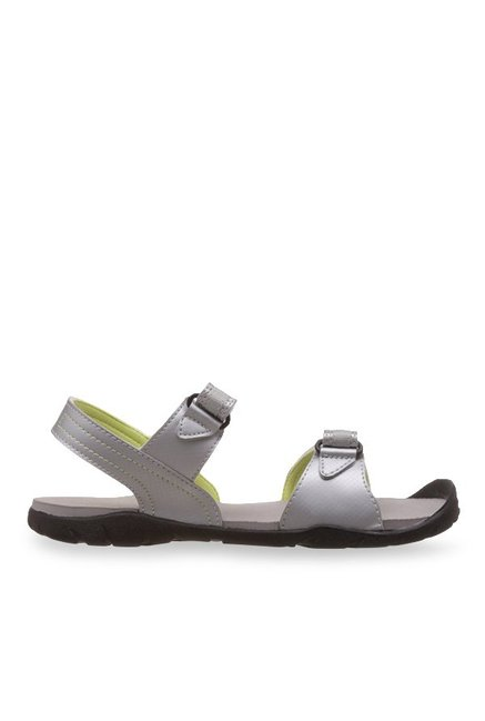 7609e430d87ba7 Buy Adidas Aron 1.0 Silver Floater Sandals for Women at Best Price   Tata  CLiQ