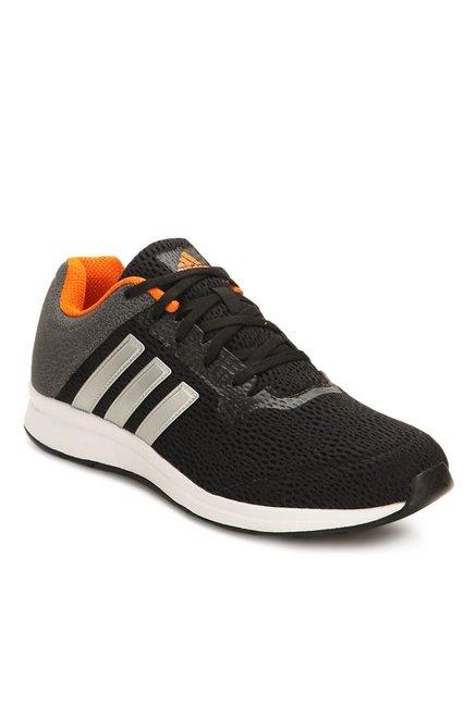 comprare adidas erdiga black & grey scarpe da corsa per uomini al miglior prezzo