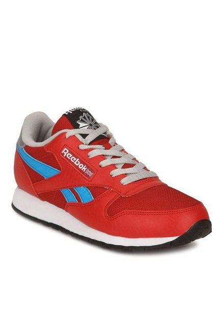 6894a522310 Buy Reebok Classic Protonium LP Red   Blue Running Shoes for Women at Best  Price   Tata CLiQ
