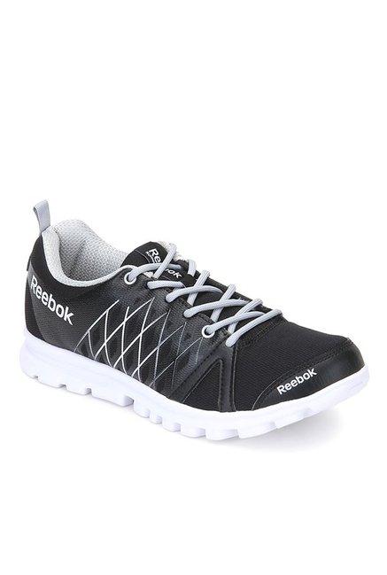 Buy Reebok Pulse Run LP Black Running Shoes for Men at Best Price   Tata  CLiQ 14c4ea50c