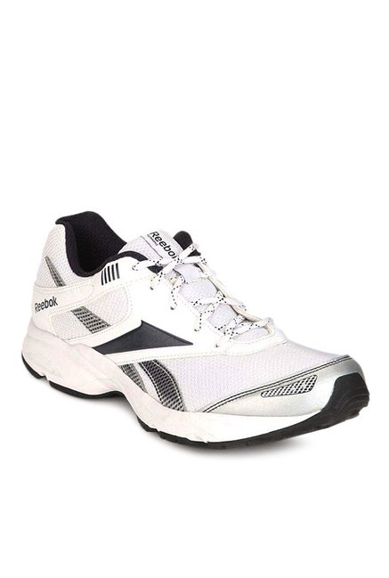 d2852f1a6 Buy Reebok Run Exclusive Extreme White   Silver Running Shoes for ...