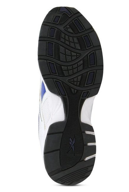 3d9828f1936a1 Buy Reebok Active Sport 2 White   Blue Running Shoes for Men at Best ...