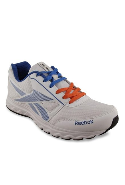 15c7b42b3219 Buy Reebok Ultimate Speed 4.0 White   Blue Running Shoes for Men ...