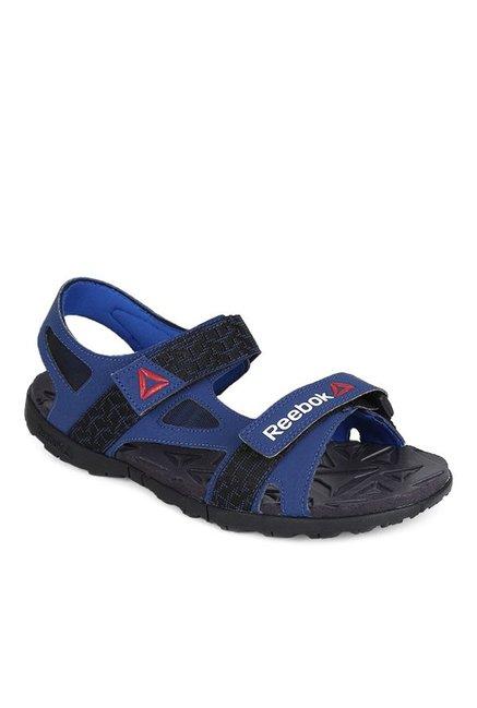 e8a1d001d52a Buy Reebok Ultra Adventure Blue   Black Floater Sandals for Men at Best  Price   Tata CLiQ