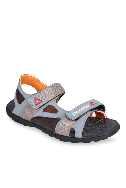 687dac8ad Buy Reebok Ultra Adventure Light Grey   Orange Floater Sandals for ...