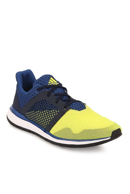 4170e932f2d44 Buy Adidas Energy Bounce Yellow   Blue Running Shoes for Men at Best Price    Tata CLiQ