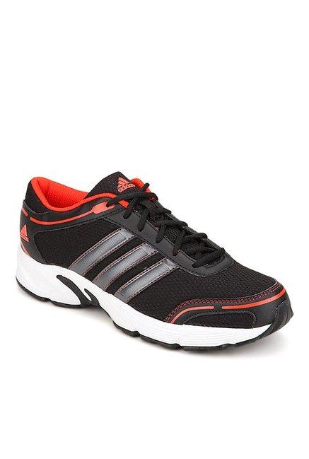 Buy Adidas Eyota Black & Orange Running Shoes for Men at Best ...
