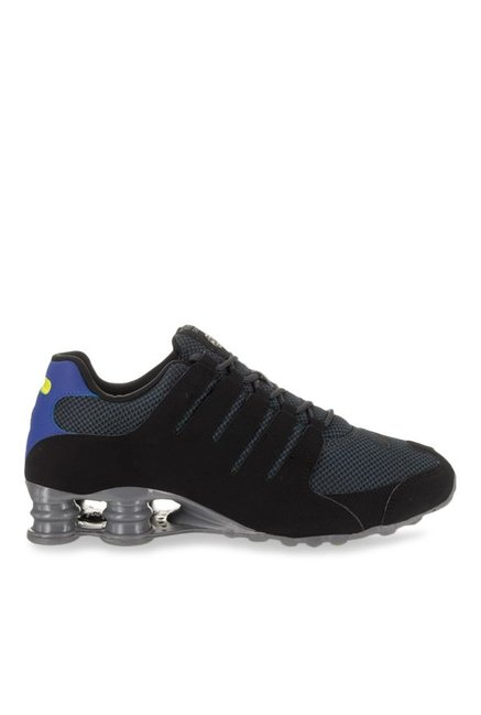 best service a18fe 5cb23 Buy Nike Shox NZ SE Black & Grey Running Shoes for Men at ...