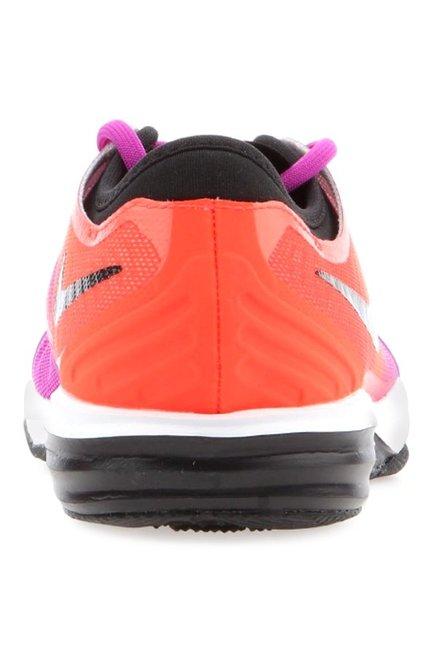 de9c5165863 Buy Nike Dual Fusion TR 4 Purple   Orange Training Shoes for Women ...