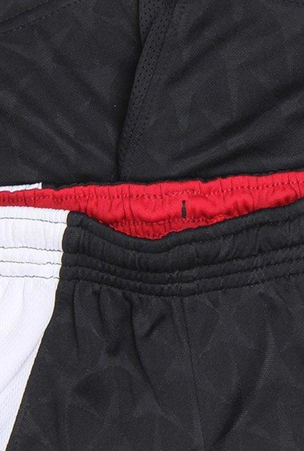 974f2a304beb0c Buy Jordan Black   White Self Print Shorts for Boys Clothing Online ...
