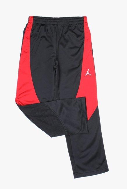 72b7b92ab0fbdd Buy Jordan Black Solid Trackpants for Boys Clothing Online   Tata ...
