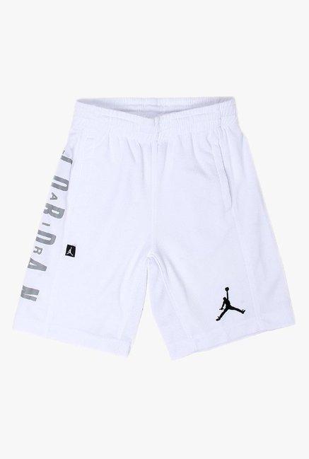 1b9d354936d937 Buy Jordan White Printed Shorts for Boys Clothing Online   Tata CLiQ