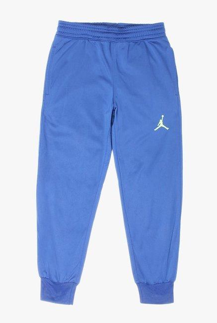 f394495a52d274 Buy Jordan Blue Solid Joggers for Boys Clothing Online   Tata CLiQ