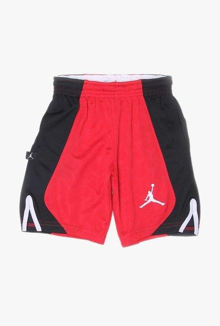 3eee16ad69884d Buy Jordan Red   Black Solid Shorts for Boys Clothing Online   Tata CLiQ