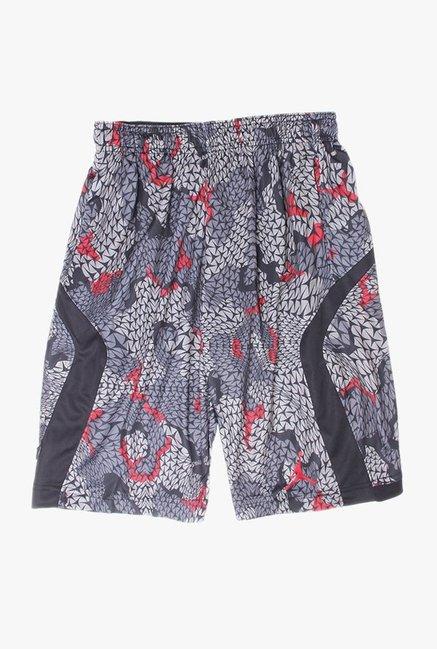 db40e3fc39ec Buy Jordan Grey Printed Shorts for Boys Clothing Online   Tata CLiQ