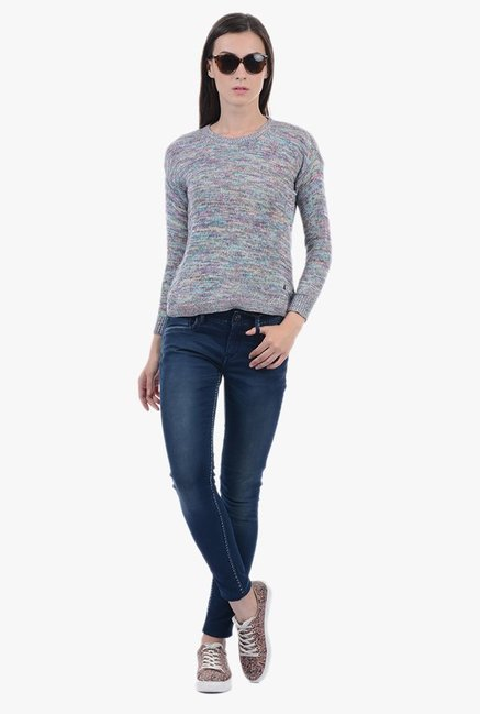 Pepe Jeans Multicolor Textured Sweater