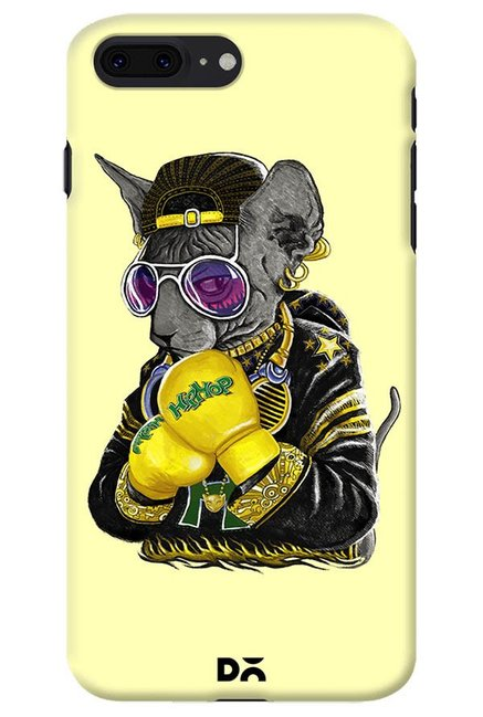 Buy Dailyobjects Hip Hop Cat Case For Iphone 8 Plus Online At Best