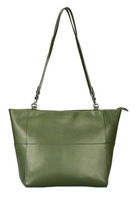 Caprese Collette Olive Solid Sling Bag