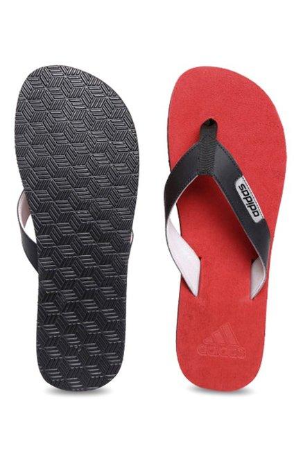 33cfb69010762a Buy Adidas Durok 2.0 Black   Red Flip Flops for Men at Best Price ...