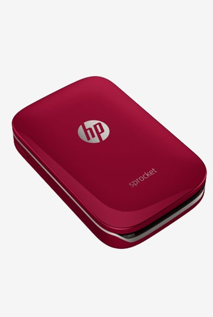 HP Sprocket Z3Z93A Portable Photo Printer (Red)