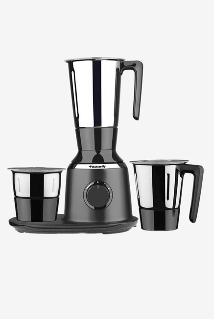 Butterfly Spectra 750 Watts 3 Jar Mixer Grinder (Black)