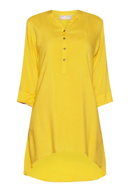 Utsa by Westside Yellow Kurta