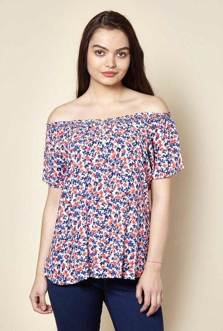 9c3cb09ed72ab5 Buy Zudio White Blouse for Women Online   Tata CLiQ