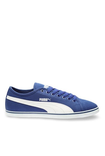 Buy Puma Elsu V2 CV DP Blue & White Sneakers for Men at