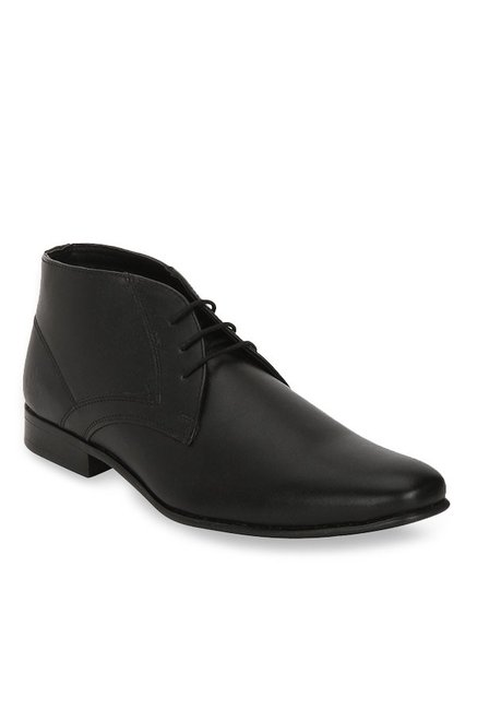df0ecc29d50e Buy Bond Street By Red Tape Black Derby Boots for Men at Best Price @ Tata  CLiQ