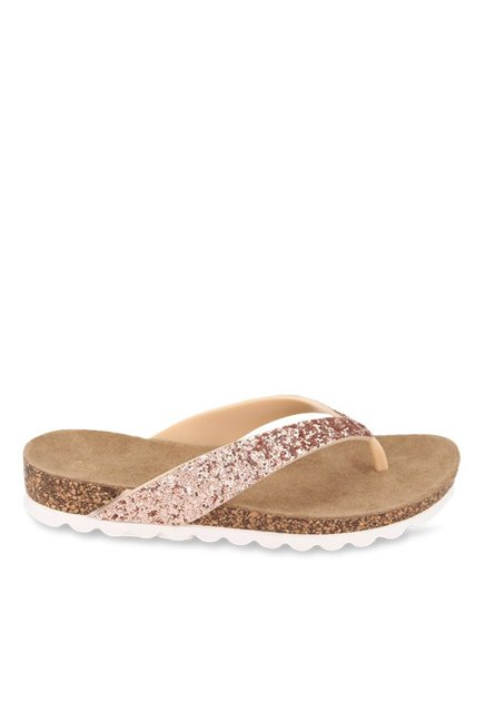 217a7c899b45 Buy Catwalk Rose Gold Thong Sandals for Women at Best Price ...