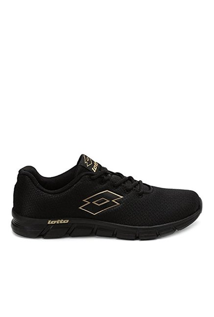 Buy Lotto Black Running Shoes for Men
