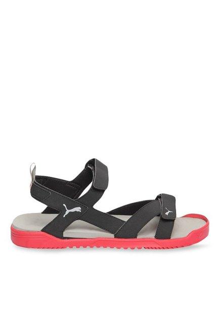 20fd36b7c32d Buy Puma Prime IDP Black   Toreador Floater Sandals for Men at Best Price    Tata CLiQ
