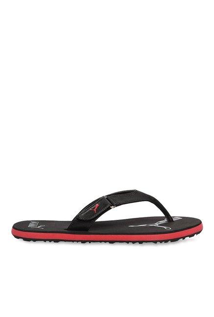 997222fd3b92 Buy Puma Breeze NG Black Flip Flops for Men at Best Price   Tata ...