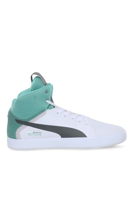 hot sale online c1fea 2964e Buy Puma MAMGP Nico White Basketball Shoes for Men at ...