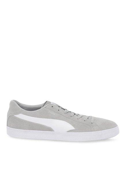 7a3523bd2c7c Buy Puma Match Vulc 2 Grey   White Sneakers for Men at Best Price   Tata  CLiQ