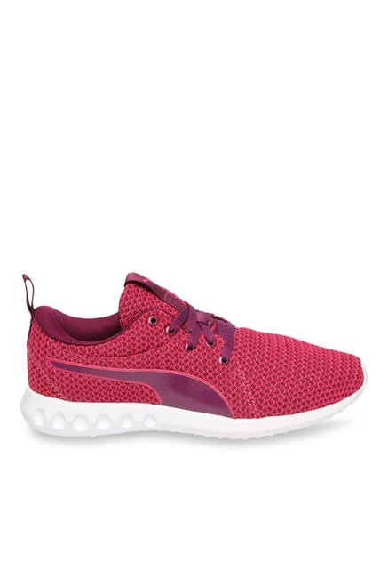 e105eb01b76482 Buy Puma Carson 2 Knit Love Potion   Dark Purple Running Shoes ...